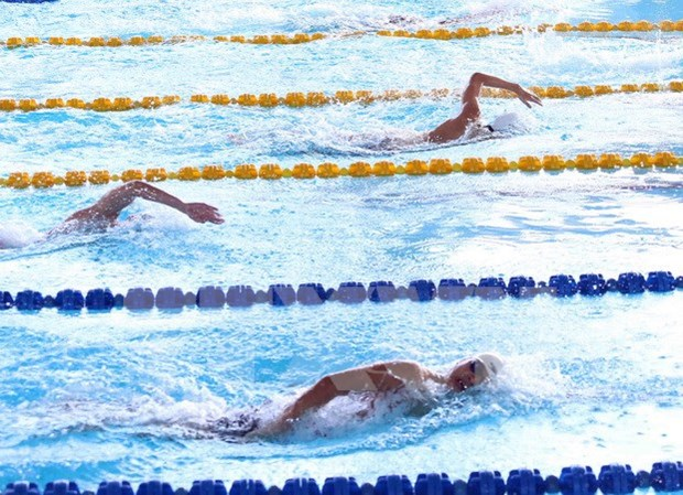 Age Group Swimming Championship wraps up hinh anh 1