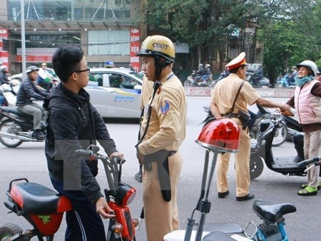 Hanoi enforces registration of electric bikes hinh anh 1