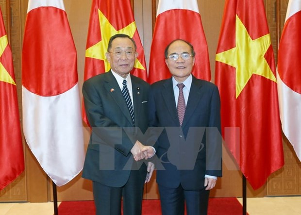 NA Chairman, Japan's House of Councillors President hold talks hinh anh 1