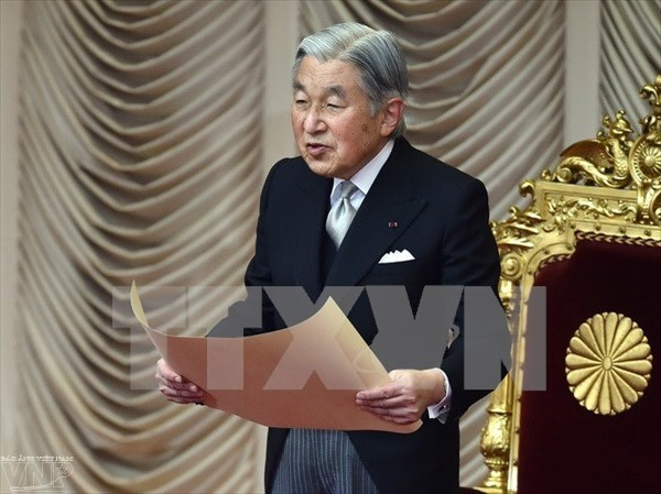 Japanese Emperor's 82nd birthday celebrated in HCM City hinh anh 1