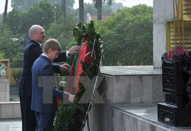 Belarusian President wraps up Vietnam visit hinh anh 1
