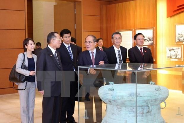 Japanese upper house leader concludes Vietnam visit hinh anh 1