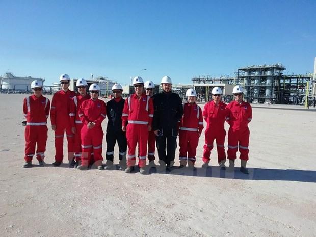 PetroVietnam welcomes first flow of oil in Algeria's Bir Seba field hinh anh 1