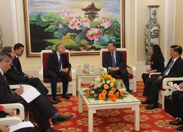 Public Security Deputy Minister welcomes EU official hinh anh 1