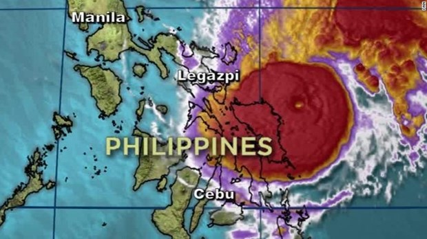Thousands evacuated as Typhoon Melor hit Philippines hinh anh 1