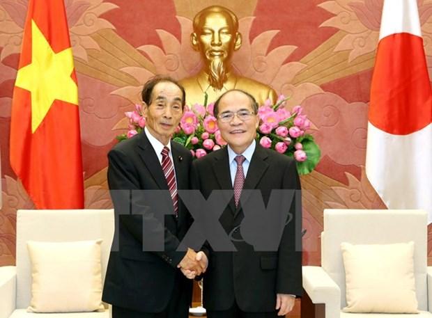 NA Chairman meets Japanese legislature leader hinh anh 1