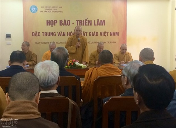 First exhibition highlights Vietnamese Buddhist culture hinh anh 1