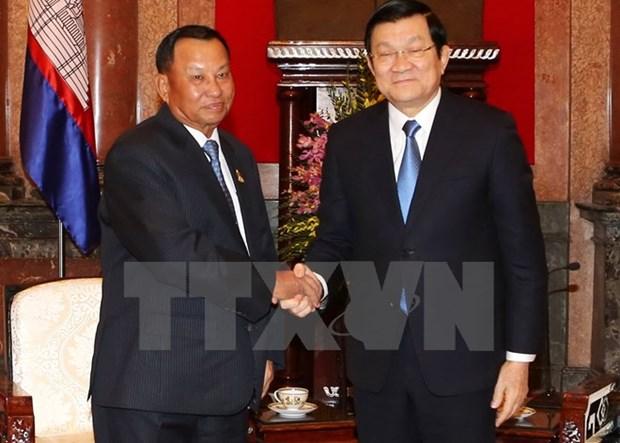 President confident in ties between Vietnamese, Cambodian legislatures hinh anh 1