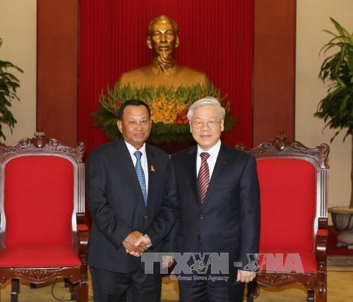 Cambodia to do best to develop friendship with Vietnam hinh anh 1