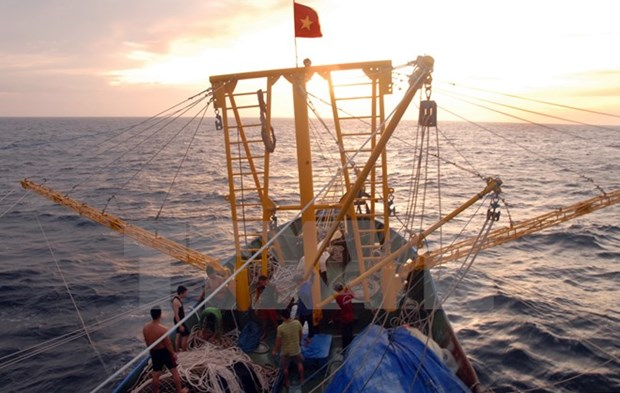 Vietnam, China launch joint survey of waters off Gulf of Tonkin hinh anh 1