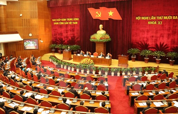 Party Central Committee continues personnel preparation discussion hinh anh 1
