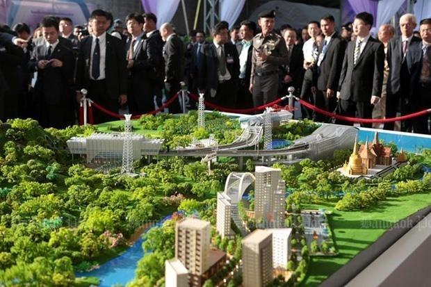 Thailand, China kick off railway project hinh anh 1
