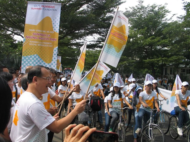 Sunwah social services launched in Hanoi hinh anh 1