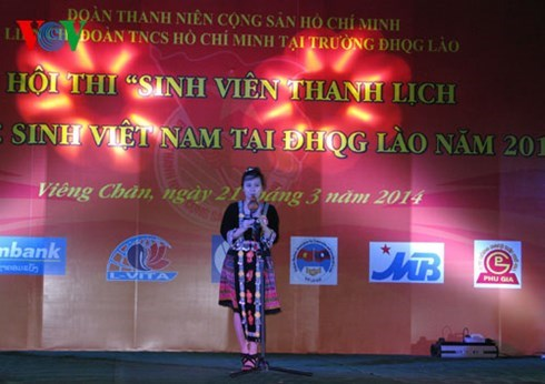 Students in Laos vow to cement bilateral special relationship hinh anh 1