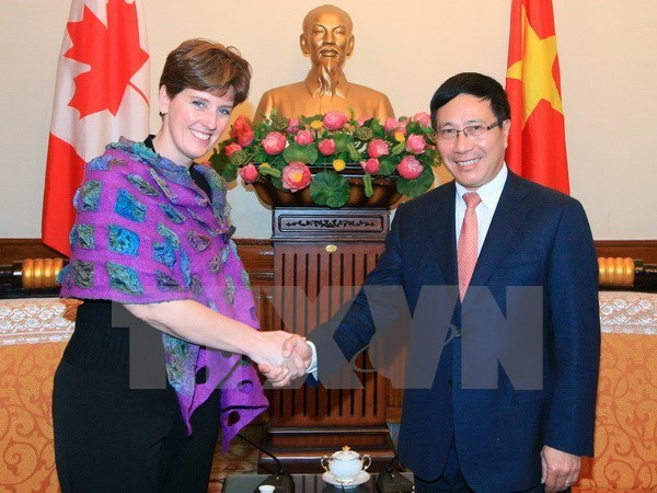 Canada helps Vietnamese farmers access agricultural financing hinh anh 1