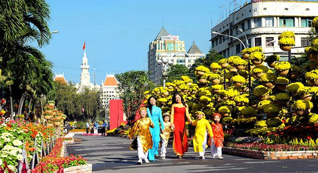 Flower street in HCM City to open next month hinh anh 1