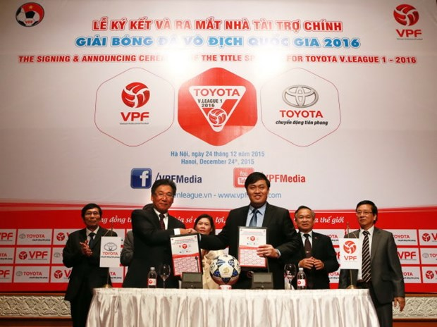 Toyota continues to sponsor V-League 2016 hinh anh 1