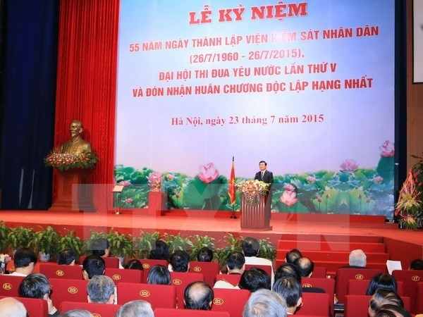 People's Procuracy responsible for improved crime fight: President hinh anh 1