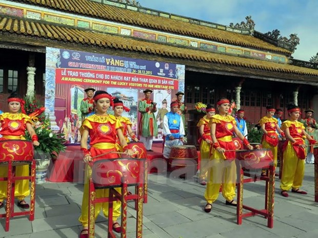 Hue golden tourism week promotions announced hinh anh 1