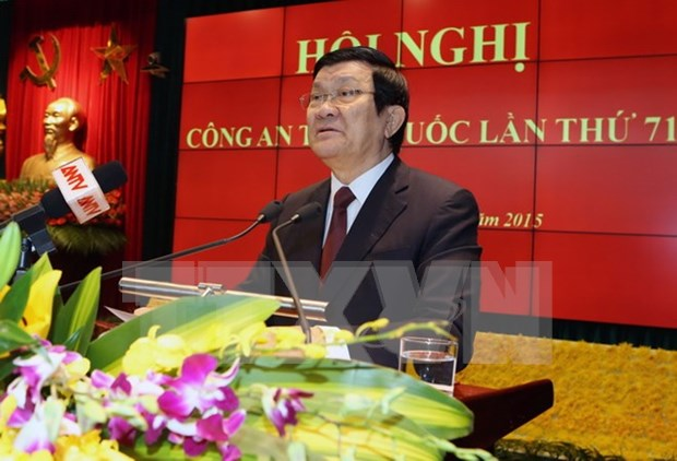 President requests utmost effort to ensure national security hinh anh 1
