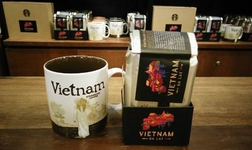 Starbucks stores to launch Da Lat coffee hinh anh 1