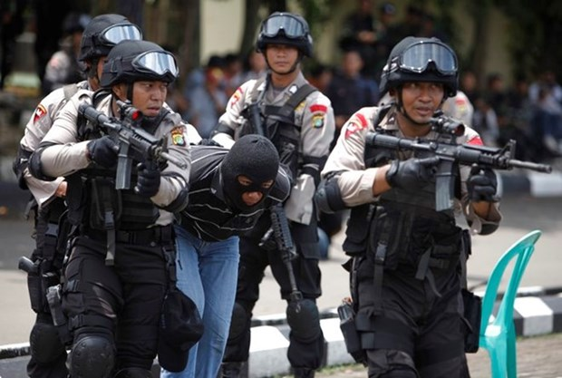 Indonesia captures three with suspected links to IS hinh anh 1