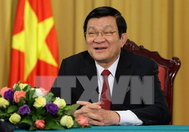 President asks for more efforts during int'l integration hinh anh 1