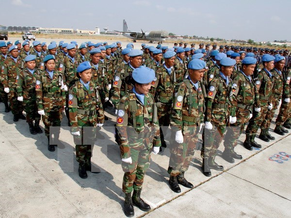 Cambodia continues sending troops to Lebanon for UN peacekeeping hinh anh 1