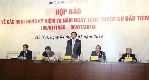 Ceremony for first election anniversary slated for January 6 hinh anh 1