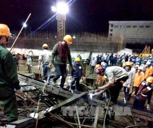 Vietnam targets 5 pct decrease in fatal labour accidents hinh anh 1