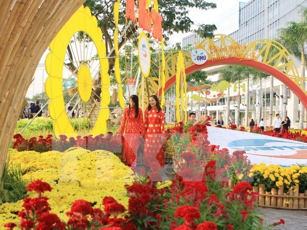 HCM City to welcome New Year with spring flower festival hinh anh 1