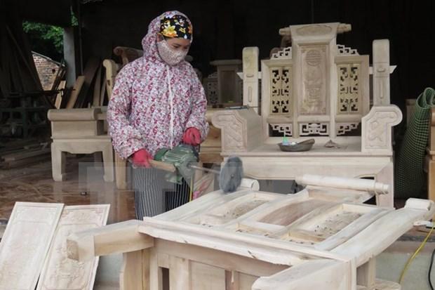Dong Nai runs 860 mln USD surplus in wood trade hinh anh 1