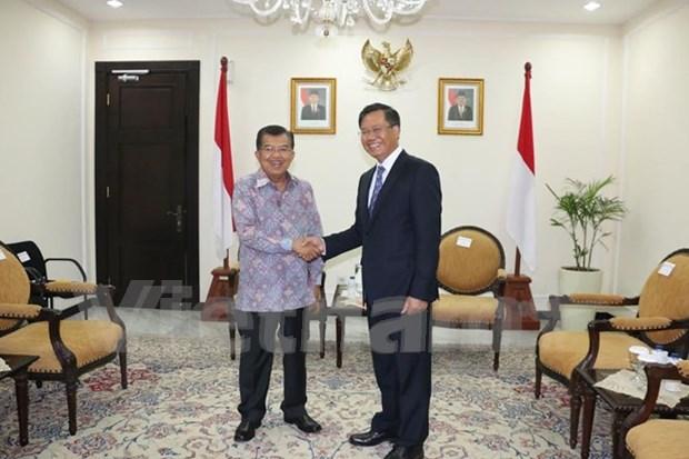 Indonesia, Vietnam pledge to boost strategic partnership hinh anh 1