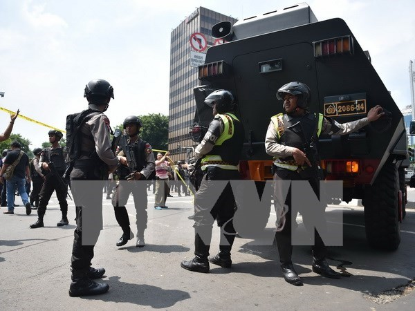 No Vietnamese killed or injured in Jakarta attacks hinh anh 1