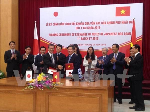 Japan provides Vietnam over 95 billion yen in ODA hinh anh 1