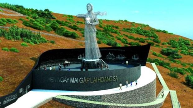 Quang Ngai : Work starts on Hoang Sa soldier memorial site hinh anh 1