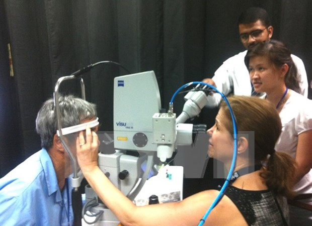 People in Mekong Delta to receive eye care hinh anh 1