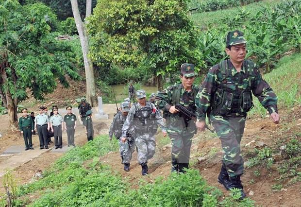Vietnam-China land border committee convenes sixth meeting hinh anh 1