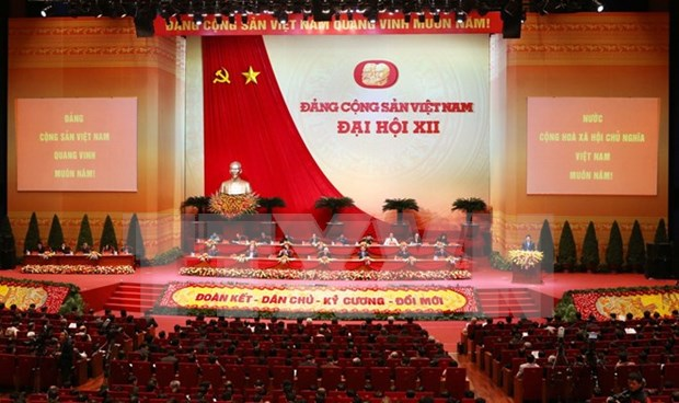 Delegates' ideas help enrich Party Congress's documents hinh anh 1