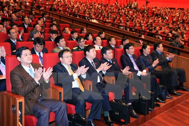 Party Congress delegates support policy on equal business playground hinh anh 1