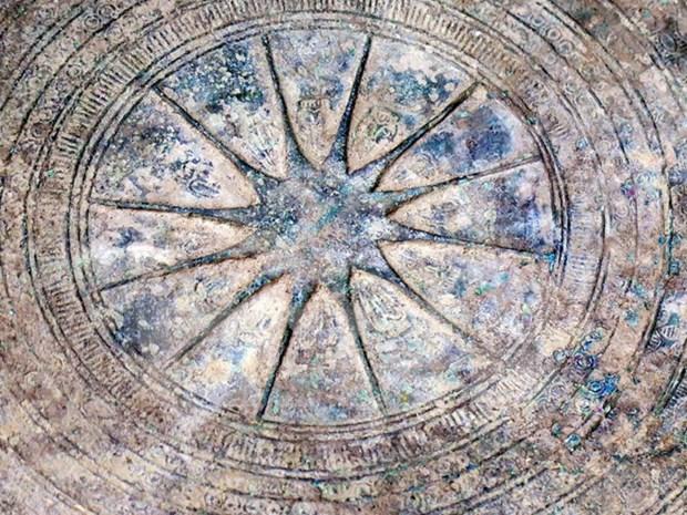 Ancient bronze drum found in Dien Bien hinh anh 2