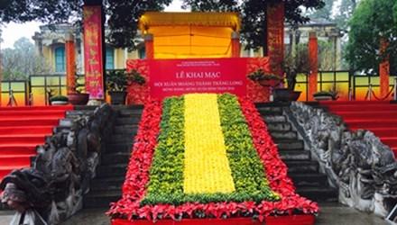 Spring festival opens at Thang Long Citadel hinh anh 1