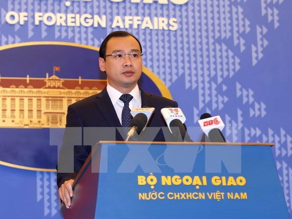 Vietnam calls for active contributions to peace, stability in East Sea hinh anh 1