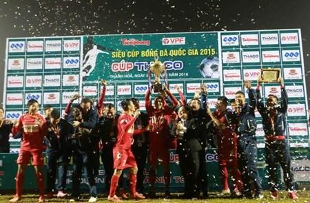 Binh Duong win Vietnamese Super Cup hinh anh 1
