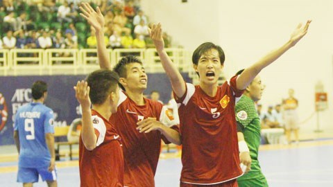 Futsal team targets Asia top five berth hinh anh 1