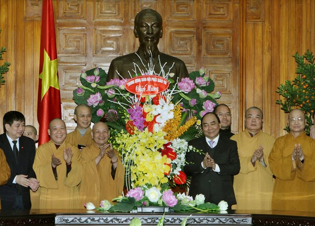 Deputy PM meets religious delegations ahead of Lunar New Year hinh anh 1
