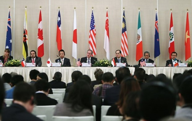 Trans-Pacific Partnership officially sealed hinh anh 1