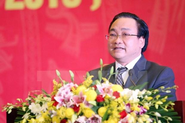 Deputy Prime Minister named Hanoi Party leader hinh anh 1