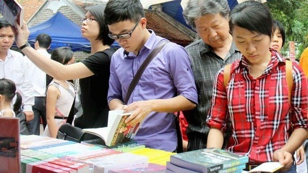 Hanoi to open book street on third Lunar New Year day hinh anh 1