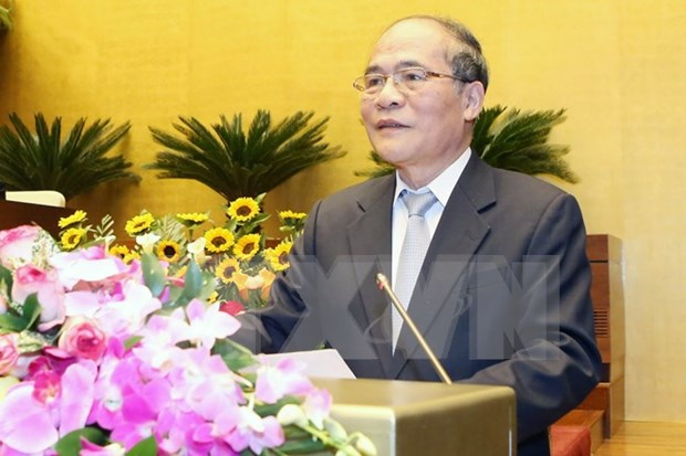 NA shows solidarity, brainpower, renovation in 13th tenure hinh anh 1